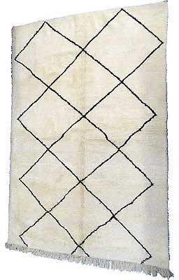 Tapis persan & Oriental - Tapis Beni Ouarain