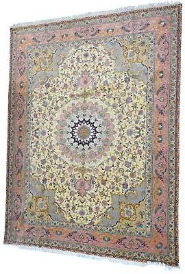 Tapis persan & Oriental - Tapis Tabriz fin