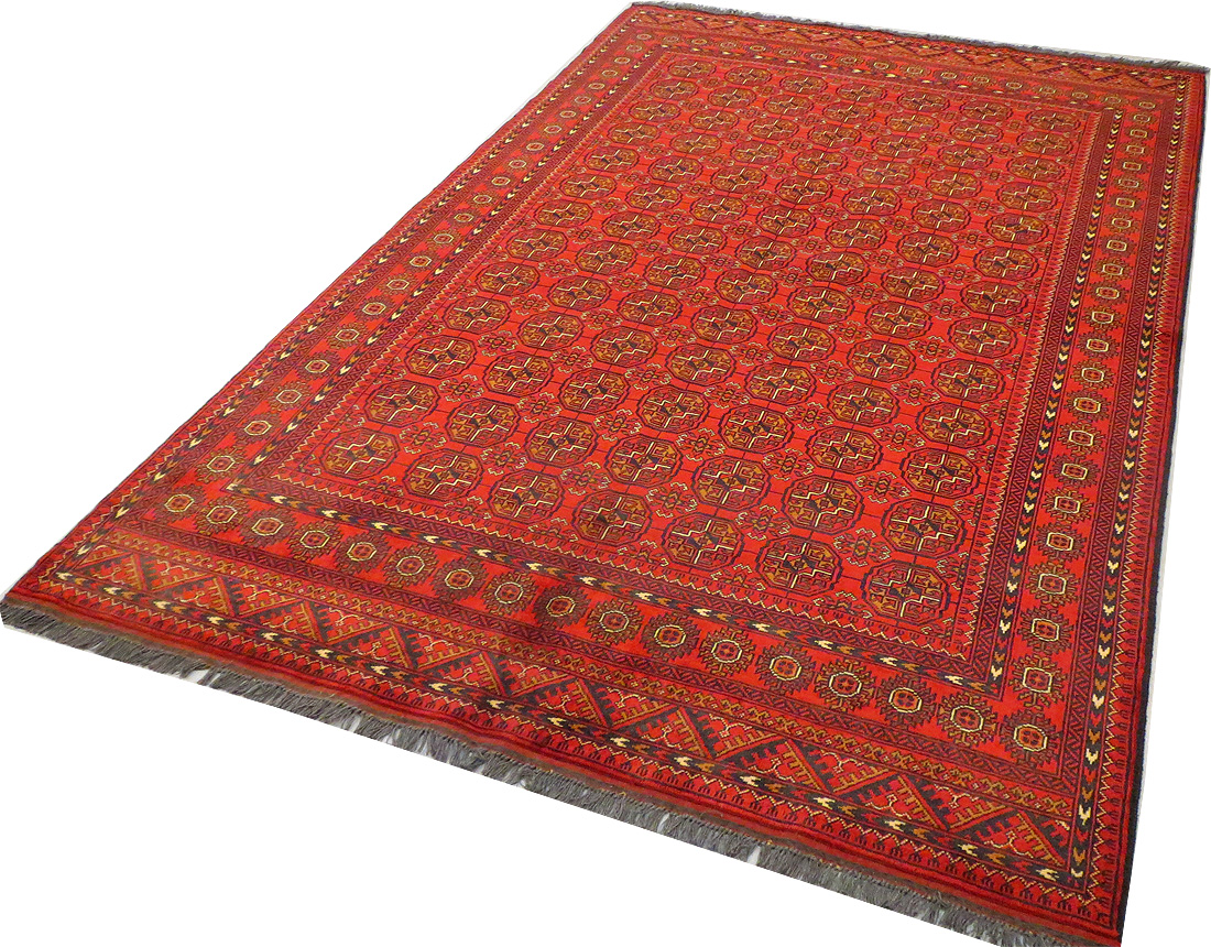 ... Tapis Afghan - 307 x 203 cm - T1428 - -laine- - Pays Afghanistan