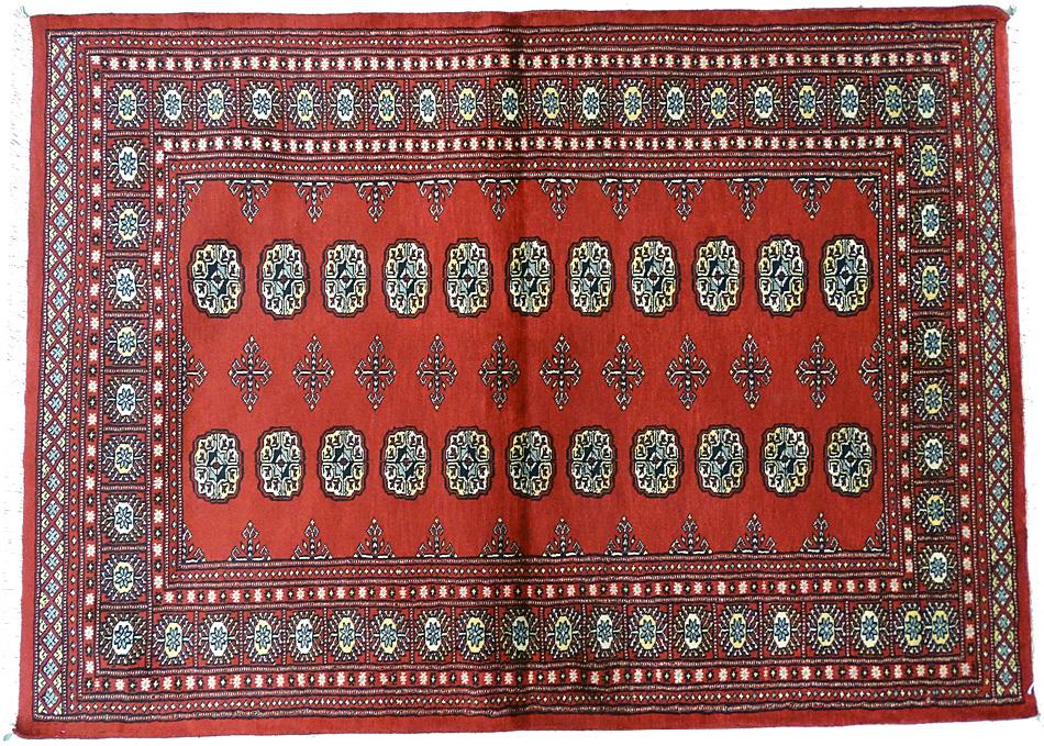 Tapis oriental tapis bukhara 195 x 141 cm laine 1553 - Tapis 200x140 ...