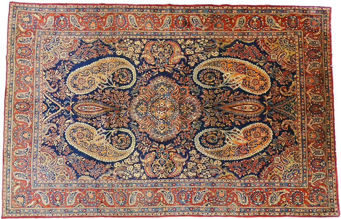 Tapis persan Ghomseh
