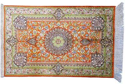 Tapis persan - Tapis Ghoum